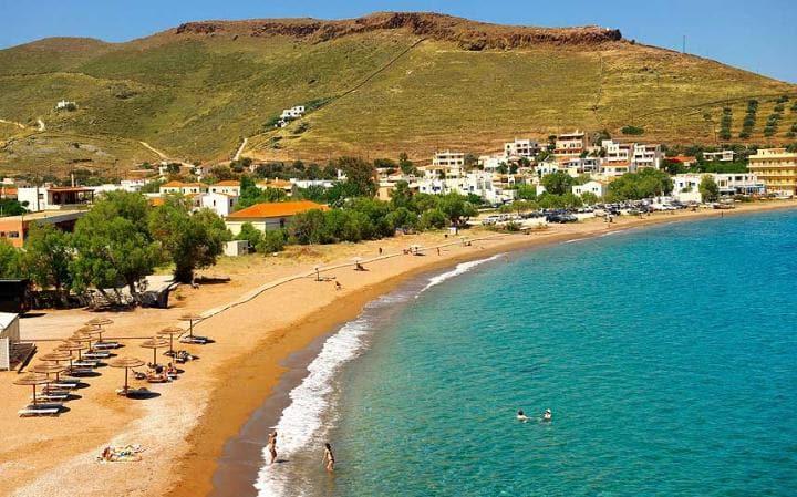 kea-beach hidden greek islands